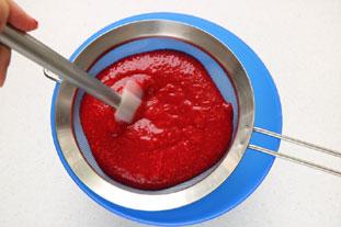 Raspberry sorbet : Photo of step #2