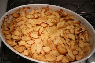 Apple and almond gratin : Photo of step #9
