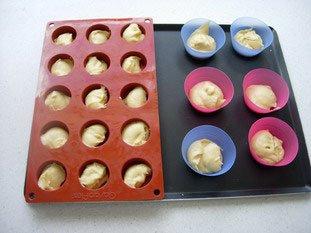 Muffins aux framboises : Photo de l'étape 1