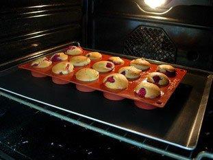 Muffins aux framboises : Photo de l'étape 7