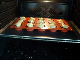 Blackcurrant-almond muffins : Photo of step #5