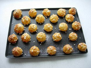Chouquettes : Photo de l'étape 6