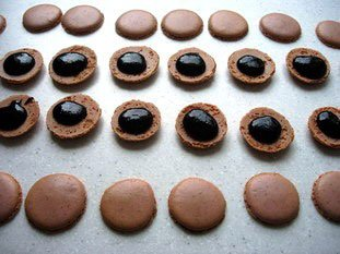 Macarons (the original French macaroons)  : Photo of step #22
