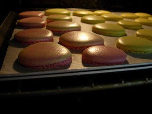 Cuisson macaron four traditionnel