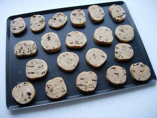 Chocolate almond cookies : Photo of step #6