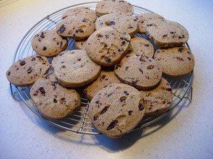 Chocolate almond cookies : Photo of step #7