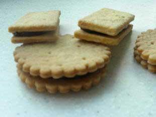 """Biscuits au chocolat """"comme des BN"""" : Photo de l'étape 26"""