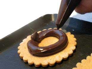 """Biscuits au chocolat """"comme des BN"""" : Photo de l'étape 10"""