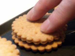 """Biscuits au chocolat """"comme des BN"""" : Photo de l'étape 11"""