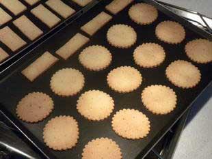 """Biscuits au chocolat """"comme des BN"""" : Photo de l'étape 6"""