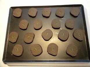 Sablés chocolat-thé Matcha : Photo de l'étape 16