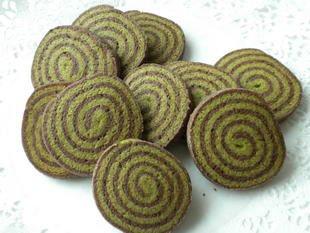 Sablés chocolat-thé Matcha : Photo de l'étape 17