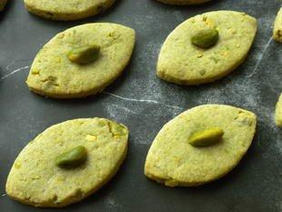 cuisine-facile - sablés pistache