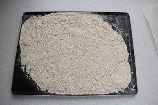 Sablés à la farine torréfiée : Photo de l'étape 1