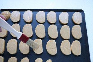 Sablés à la farine torréfiée : Photo de l'étape 7