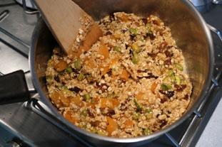 Barres chocolatées aux céréales : Photo de l'étape 8
