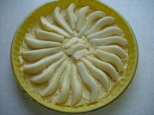 Tarte aux poires à la crème d'amandes : Photo de l'étape 5