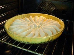 Tarte aux poires à la crème d'amandes : Photo de l'étape 6