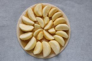 Tarte aux pommes express : Photo de l'étape 4