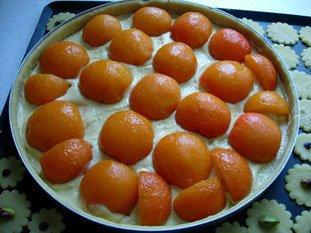 Tarte aux abricots et amandes : Photo de l'étape 5