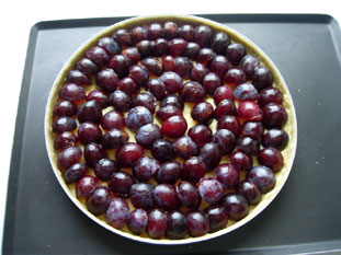 Plum tart : Photo of step #7