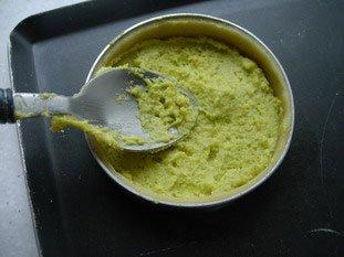Tartelette pistache-griottines : Photo de l'étape 2
