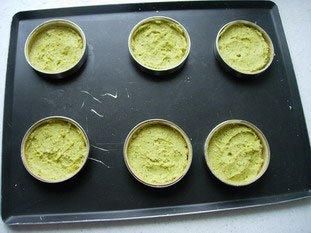 Tartelette pistache-griottines : Photo de l'étape 3