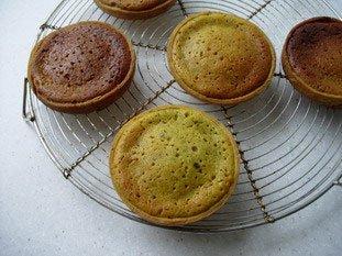 Tartelette pistache-griottines : Photo de l'étape 4