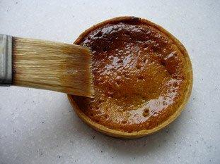 Tartelette pistache-griottines : Photo de l'étape 5