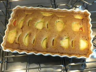 Tarte poires-pamplemousses-pistache : Photo de l'étape 8