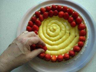 Tarte aux fraises : Photo de l'étape 5