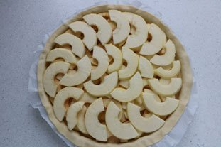Tourte aux pommes : Photo de l'étape 3
