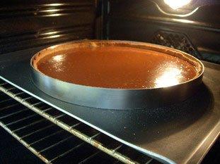 Tarte fondante au chocolat : Photo de l'étape 8