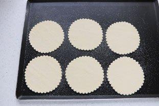 Tartelettes fines aux pêches caramélisées : Photo de l'étape 1