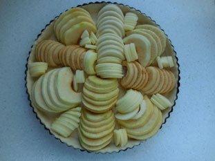Tarte aux pommes de Bonnevaux : Photo de l'étape 6