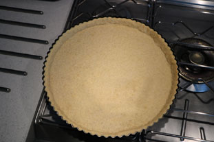 Flaked almond tart : Photo of step #2