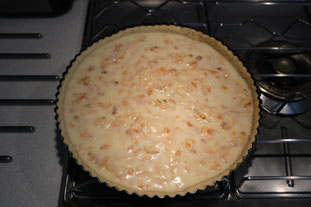 Flaked almond tart : Photo of step #7