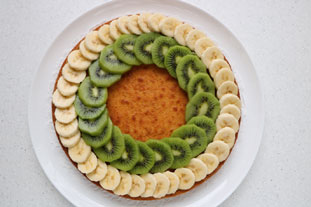 Exotic fruit tart : Photo of step #7