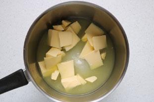 Tarte meringuée au citron vert : Photo de l'étape 3