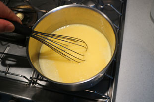 Tarte meringuée au citron vert : Photo de l'étape 5