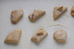 Chaussons briochés pommes-cassis : Photo de l'étape 1