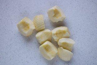 Chaussons briochés pommes-cassis : Photo de l'étape 3