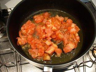 Tomates et courgettes farcies : Photo de l'étape 12