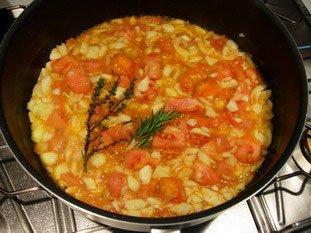 Tomates et courgettes farcies : Photo de l'étape 13