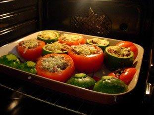 Tomates et courgettes farcies : Photo de l'étape 20