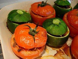 Tomates et courgettes farcies : Photo de l'étape 21