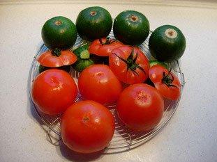 Tomates et courgettes farcies : Photo de l'étape 6