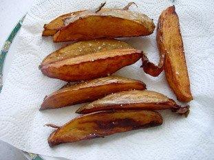 Grosses frites au couteau : Photo de l'étape 5