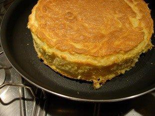 Omelette soufflée au fromage : Photo de l'étape 14