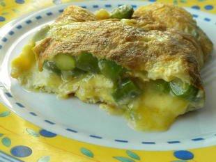 Omelette aux asperges vertes : Photo de l'étape 26